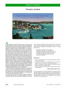 Therapia, Istanbul Am J Psychiatry July 2014 OSMAN SABUNCUOGLU